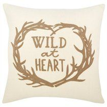 Expressions 'Wild at heart' Pillow Cover - 18