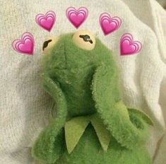 Kermit The Frog Meme Aesthetic Frog Wallpaper, Cartoon Wallpaper, Iphone Wallpaper, Frog Heart, Sapo Meme, Memes Lindos, Heart Meme, Cute Love Memes, In Love Meme