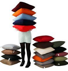 The Matt Blatt Happy Cushion by Sagano - Matt Blatt Cosy, Plush, Cushions, Lounge, Seasons, Dining, Happy, Airport Lounge, Dinner