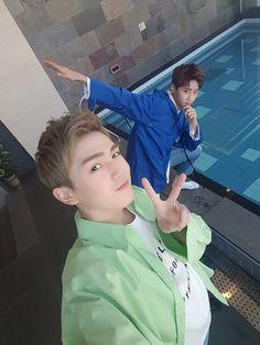 [FB] 170321 UP10TION WIshlist Burst V - Wei & gyujin