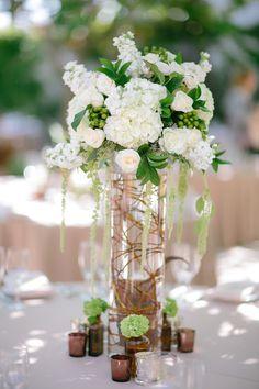 Spreading floral love.: Stylish + Chic Villa Wedding