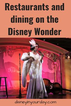 Dining on the Disney Wonder - Disney in your Day... curious what there is to eat and drink on board the Disney Wonder cruise ship? Here's a list of all the restaurants, their themes, and an idea of the food offerings they have! #disneycruise #dcl #disneywonder #disneyfood #disneyrestaurants #tianasplace Disney Wonder Cruise, Disney Dream Cruise, Disney Cruise Ships, Best Cruise, Disney World Vacation, Disney Parks, Disney Travel, Disney World Tips And Tricks, Disney Tips