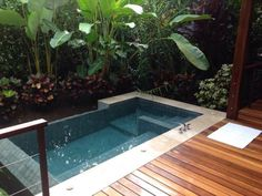 Plunge Pool, natural spring water, heated by the nearby Arenal volcano. Villa 1.
