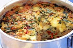 Mediterranean tuna and rice pie main image
