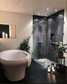 Dream Home Design, Home Interior Design, House Design, Luxury Interior, Interior Architecture, Cozy Bathroom, Modern Bathroom Decor, Espace Design, Bathroom Design Luxury