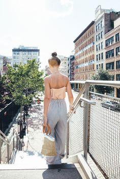 wide leg pants look | Jenny Cipoletti of Margo & Me