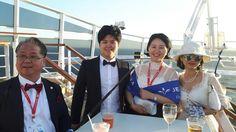 Jeunesse Mediterranean Cruise 주네스 지중해크루즈 선상칵테일파튀에서 캐나다에서 온 뤼디아와