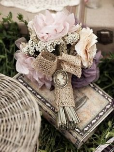 Bridal Bouquet Shabby Chic