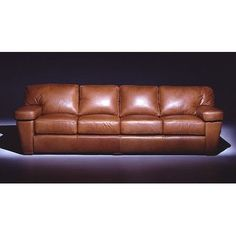 Omnia Leather Prescott Leather Sofa Upholstery: Liberty - Brandy