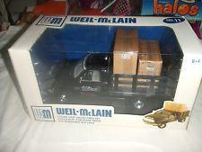 WEIL McLAIN # 11 DODGE RAM STAKE TRUCK 1:19 DIECAST