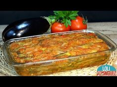 BERENJENAS AL ESTILO TURCO, RECETA FÁCIL Y SALUDABLE - Loli Domínguez - Recetas - Semana Santa - YouTube Potato Recipes, Vegetable Recipes, Cooking Time, Cooking Recipes, Vegan Casserole, Warm Salad, Seafood Salad, Middle Eastern Recipes, Food Hacks