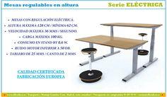 Mesas de oficina regulables en altura. | Muebles y sillas de oficina.