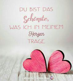 <3 wenn du diese Zeilen liest, so sollst du dies wissen. Du sollst wissen, dass meine Gedanken bei dir sind - egal wo du bist. Und du sollst wissen, dass ich dich liebe. Dass ich dich mehr liebe, als ich Worte finden kann.. Mehr, als ich es jemals für möglich hielt. Du bist das Beste, was mir je passiert ist! ... Love You More Than, I Love You, Told You So, You And I, My Love, Happy Quotes, Love Quotes, German Quotes, Quotation Marks