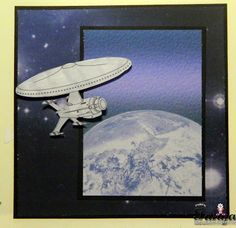 Tanya used Spaceshipe Digital Stamp and Paper pack for this out of this world creations :)