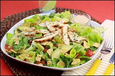 HG's Wild Southwest Chicken Salad.... Delicious.  The entire family loved it!  No one could believe it was healthy.
