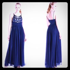 Long Social Gown Maxi Dress Size : 5 My Michelle Dresses Maxi