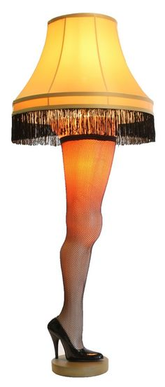 This beautiful 50-inch Deluxe Leg Lamp is a perfect replica of the leg lamp featured in A Christmas Story. All of the quirky features are present in this leg lamp including the butt cheek, the chubby thigh and the knobby knee. It also showcases a fringed gallery shade, a sexy thigh high fishnet stocking, and an elegant stiletto heel. This is our tallest model of leg lamp and the most accurate in style and size to A Christmas Story leg lamp. The 50-inch Deluxe Leg Lamp comes with a 20 inch…