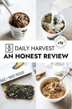 You might be wondering, What exactly is Daily Harvest? and Is Daily Harvest worth it? In this honest Daily Harvest review, we'll share with you what Daily Harvest is, the freezer-to-table plant-based foods that Daily Harvest offers, how the service works, box sizes, and average costs.