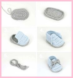 Crochet baby shoes for your newborn Crochet baby shoes, the baby . - häkeln Crochet baby shoes for your newborn Crochet baby shoes, the baby … Crochet Baby Boots, Crochet Baby Sandals, Knit Baby Booties, Booties Crochet, Crochet Baby Clothes, Newborn Crochet, Crochet Slippers, Knitted Baby, Crochet Converse