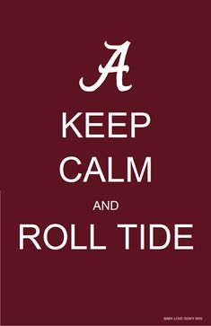 "University of Alabama ""A"" | ROLL TIDE #university of alabama #bama #crimson tide"