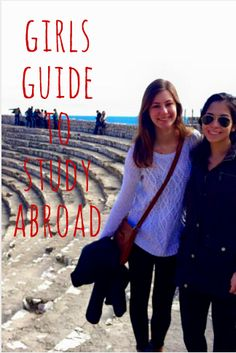 Great advice Girls Guide to Study Abroad, The College Tourist Work Abroad, Study Abroad, Semester At Sea, Study In New Zealand, Australia Visa, Overseas Education, Student Travel, Gap Year, Girl Guides