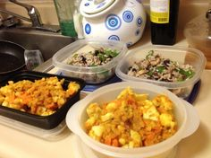 Eating Healthy On-the-Go: How to Make Meals for the Week in Under An Hour -