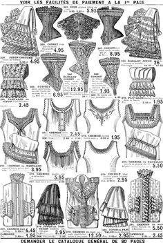 Ropa Interior 1900-1920