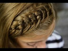Cute knot hairstyle