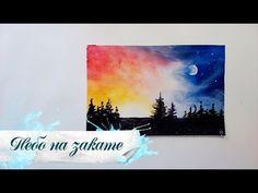 Для начинающих! Как нарисовать ночь гуашью! #Dari_Art #рисоватьМОЖЕТкаждый - YouTube