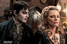 New Photo Of Johnny Depp In 'Dark Shadows'