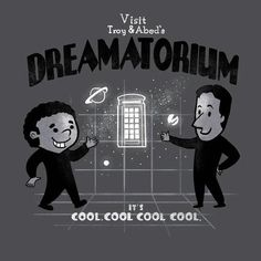 Troy and Abed Dreamatorium. Community meets Bioshock?