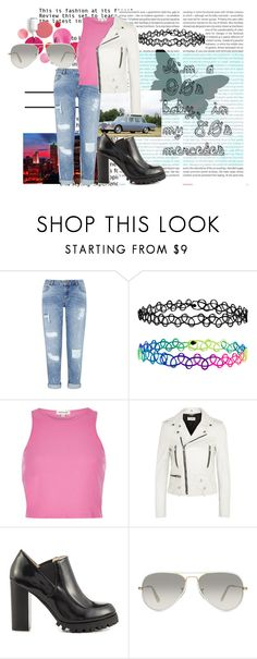"""""""I'm a 90s baby, in my 80s mercedes"""" by lydiaacra ❤ liked on Polyvore featuring Oris, Clinique, Mercedes-Benz, Miss Selfridge, Accessorize, River Island, Yves Saint Laurent, Sol Sana and Ray-Ban"""