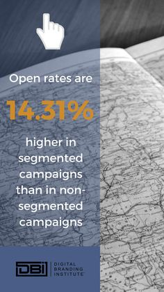 Open rates are higher in segmented campaigns than in non-segmented campaigns. Email Marketing, Content Marketing, Social Media Marketing, Business Goals, Business Tips, Search Optimization, Website Maintenance, Web Design Services, Search Engine Marketing