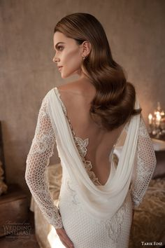 Tarik Ediz White 2015 Wedding Dresses | Wedding Inspirasi