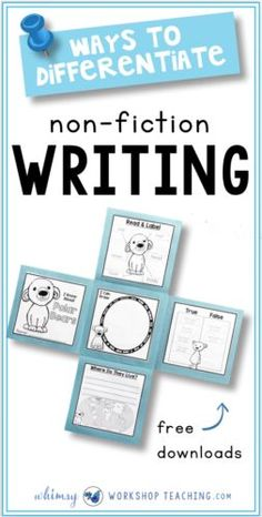 Differentiate your non-fiction writing with interactive flap books and a huge collection of 30+ writing templates to choose from for each animal