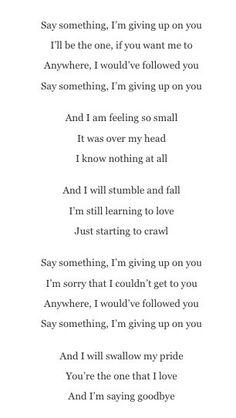goodbye love songs