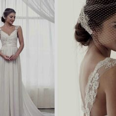 Anna Campbell bridal. Love the top part of this dress.