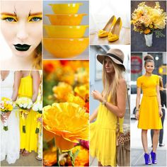 Canary - Suitable for: the true autumn, dark autumn, true spring, bright spring. Perhaps for the light spring.