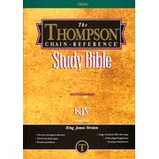 The Thompson Chain Reference Study Bible KJV is my favorite book to read.