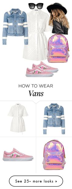 """Untitled #156"" by odette-queen on Polyvore featuring Vans, Miss Selfridge, Givenchy and Gucci"