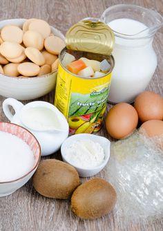 Tort diplomat cu fructe tropicale - Din secretele bucătăriei chinezești Cantaloupe, Tropical, Eggs, Breakfast, Food, Meal, Egg, Eten, Meals