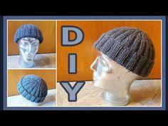 Mütze Beanie mit Gittermuster stricken • DIY * Julebuergerfee