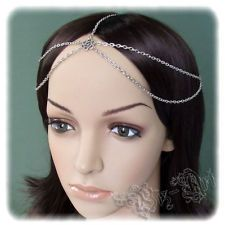 SCA Witches | Double Chain Headband Head Piece Renaissance Medieval Celtic Circlet ...