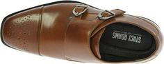 Stacy Adams Boys' Trevor 43360, Size: 5.5 M, Brown