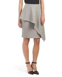 Wool Blend Lana Skirt