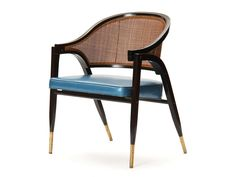 """""""A-frame"""" chair by Edward Wormley   From a unique collection of antique and modern armchairs at http://www.1stdibs.com/furniture/seating/armchairs/"""