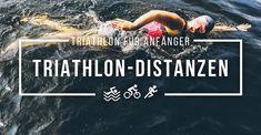 Alle Triathlon-Distanzen im Überblick: Kurztriathlon, Supersprint, Olympische Distanz und Ironman. Einfach erklärt für Triathlon-Anfänger.