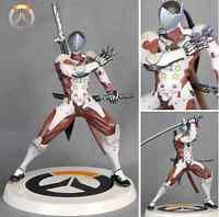 "Rye Pioneer OW Figure Genji PVC 10"" Toys Gift White Ver. New In Box"