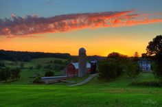 Victorian Dairy Farm by Vicki France on Capture Wisconsin // A beautiful old dairy farm outside of Mount Horeb.