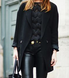 @whowhatwear - How To Wear All Black Without Looking Boring